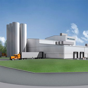 Modulare Produktionshalle Firma Brückner, Siegsdor