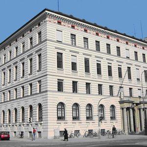 Umbau denkmalgeschützes Bürogebäude, München