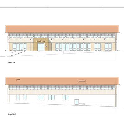 Planung Rathaus Seeon-Seebruck